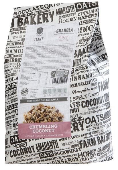 Productafbeelding TLANT Granola Crumbling Coconut 2500G