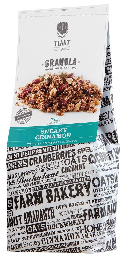 Productafbeelding TLANT Granola Sneaky Cinnamon 1000G