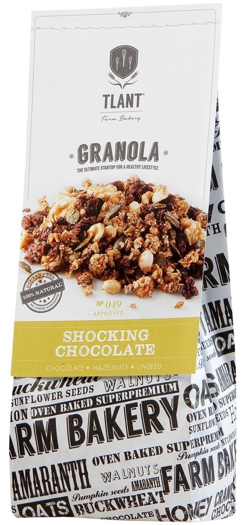 Productafbeelding TLANT Granola Shocking Chocolate 300G