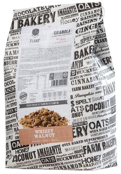 Productafbeelding TLANT Granola Whizzy Walnut 2500G
