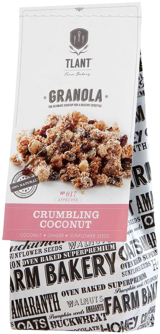 Productafbeelding TLANT Granola Crumbling Coconut 300G