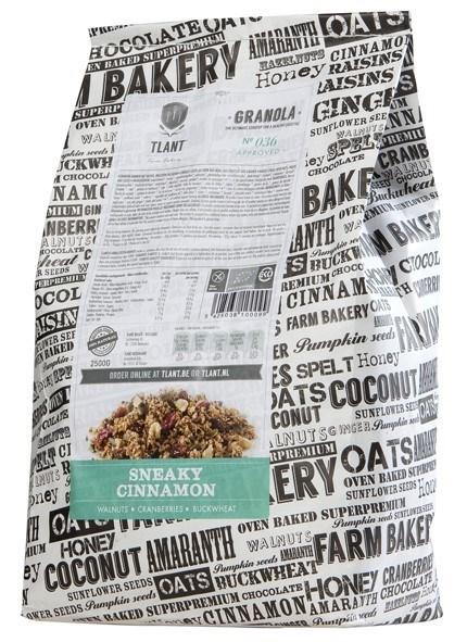 Productafbeelding TLANT Granola Sneaky Cinnamon 2500G