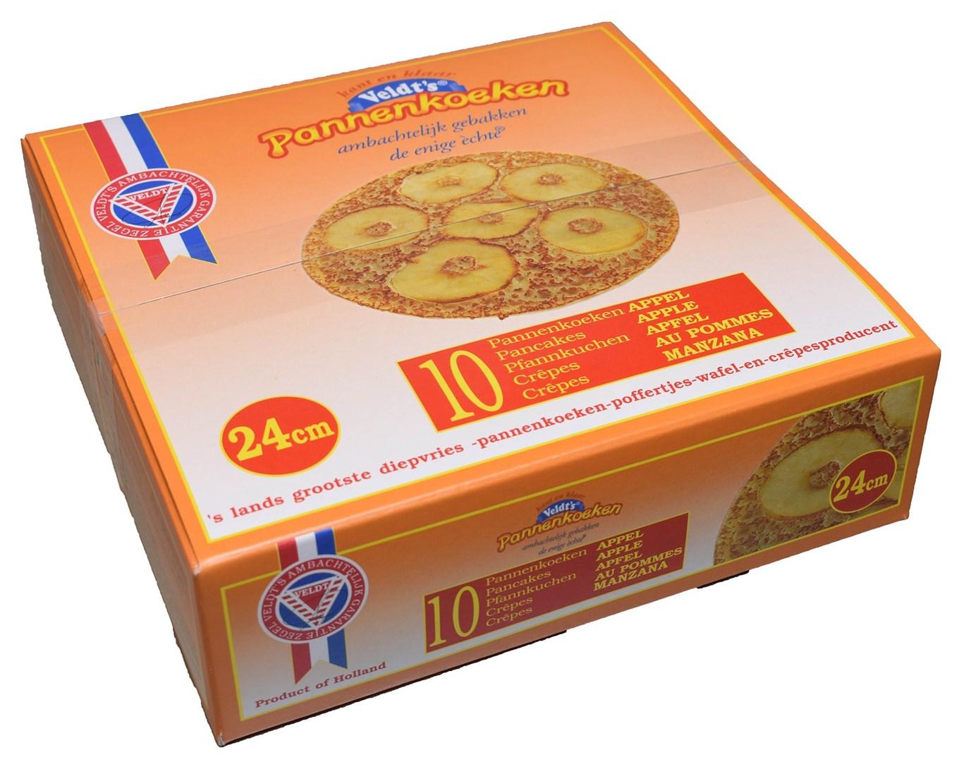 Productafbeelding Appel pannenkoek 24 cm 10 x 200 gr.