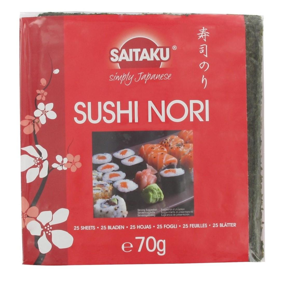 Productafbeelding Saitaku Zeewier Sushi Nori 70 g Zak