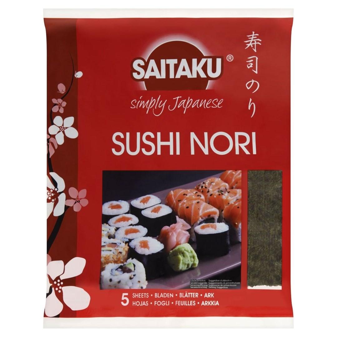 Productafbeelding Saitaku Zeewier Sushi Nori 14 g Zak