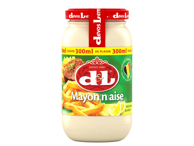 Productafbeelding D&L Mayonaise met Citroen 300 ml Bus