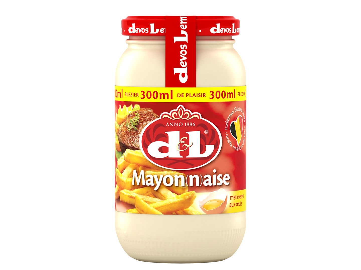 Productafbeelding D&L Mayon(n)aise met Eieren 300 ml Bus