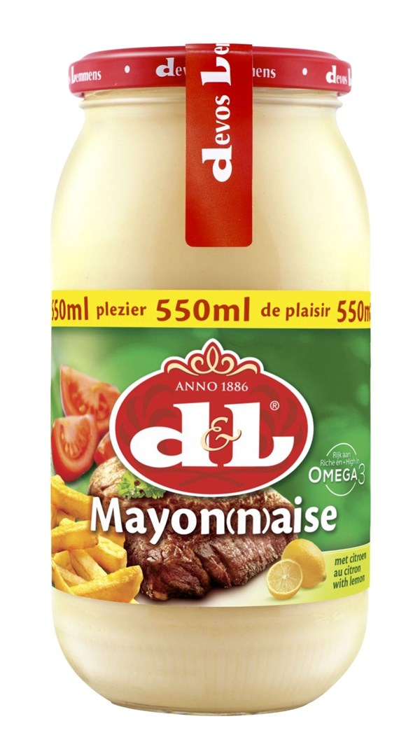 Productafbeelding D&L Mayonaise met Citroen 550 ml Bus