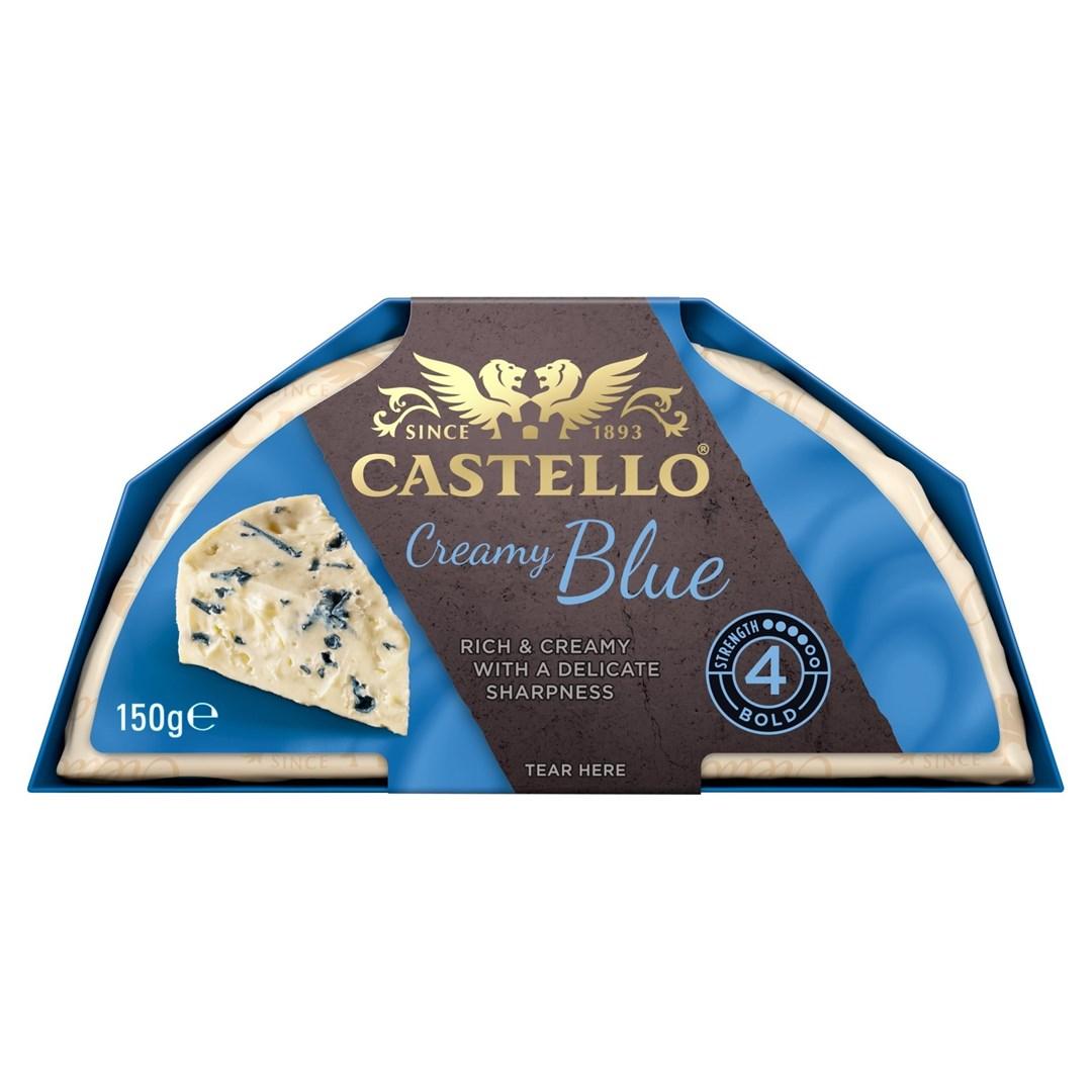 Productafbeelding Castello molt kaas 70+ blue 150gr