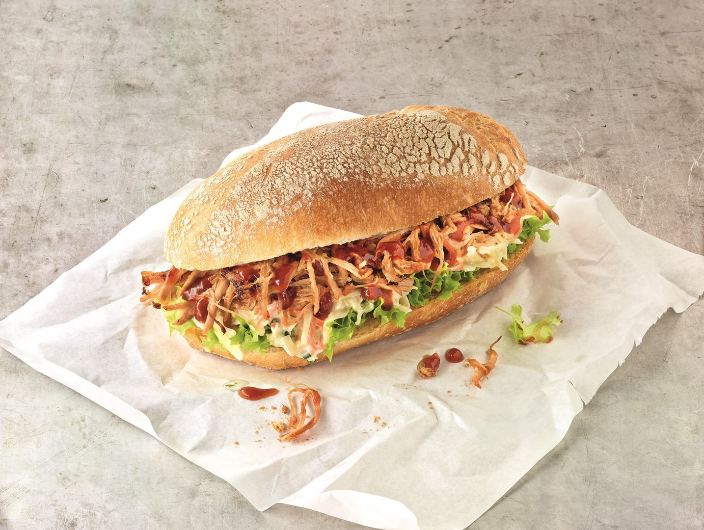 Productafbeelding Pulled Pork Burger 100 g