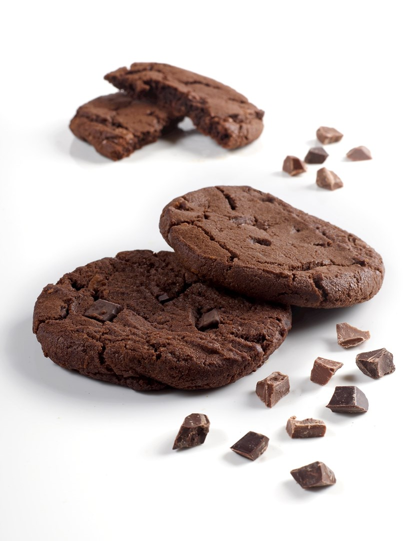 Productafbeelding Dawn Double Chocolate Mega Cookie RSPO MB 36 stuks doos