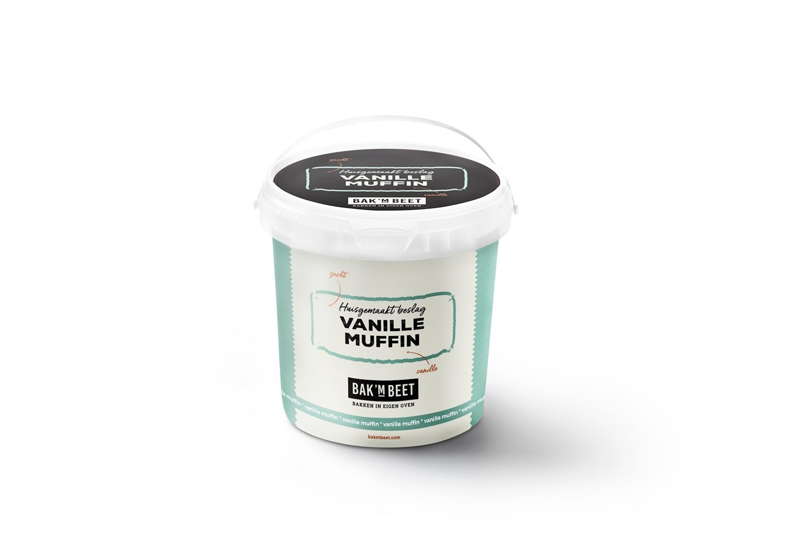 Productafbeelding Vanille muffin Bak 'm beet 1 kg