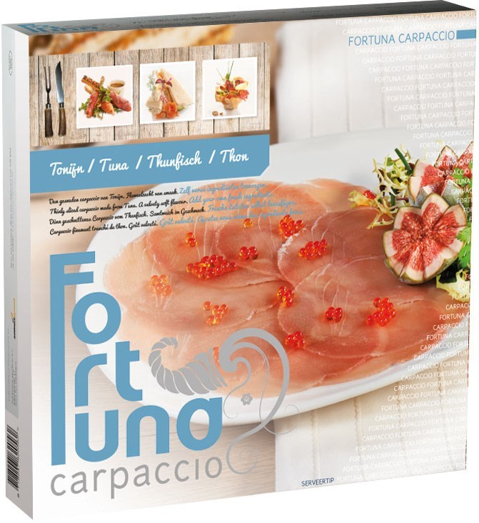 Productafbeelding Fortuna carpaccio Tonijn