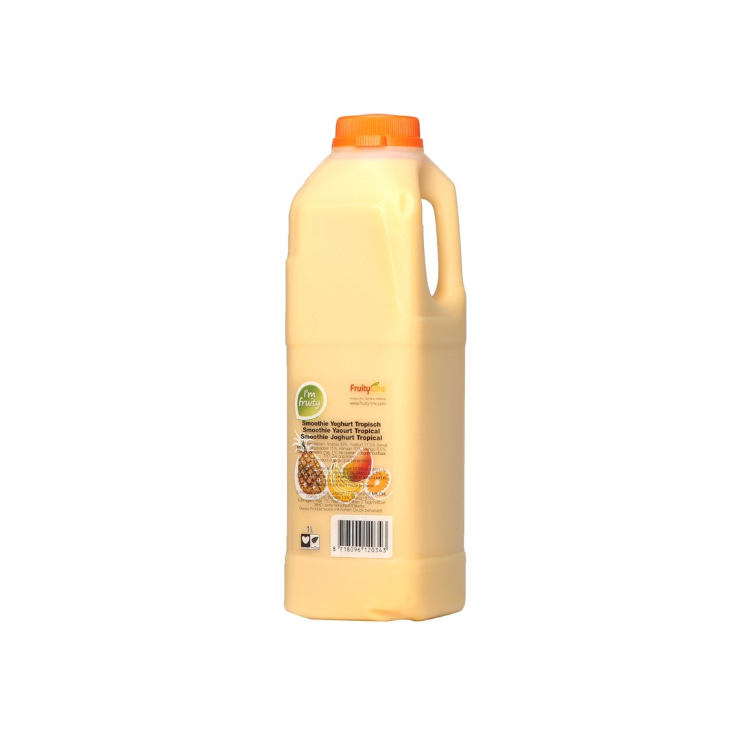 Productafbeelding Smoothie tropical yoghurt HPP 1L Can