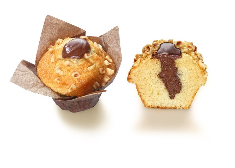 Productafbeelding A230 Vanillemuffin met cacaohazelnootvulling