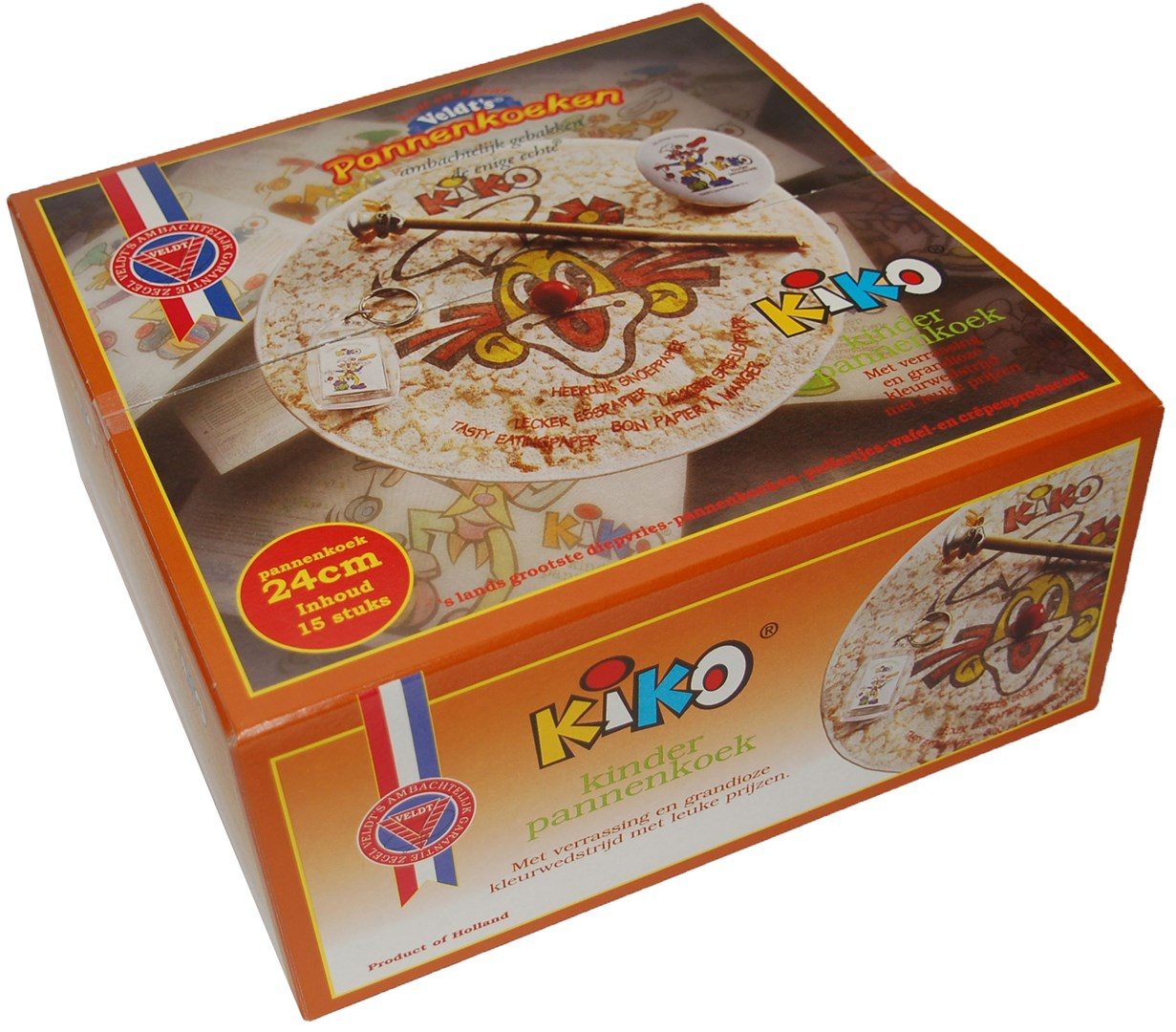 Productafbeelding KIKO Kinderpannenkoek 24 cm 15 x 185 gr.