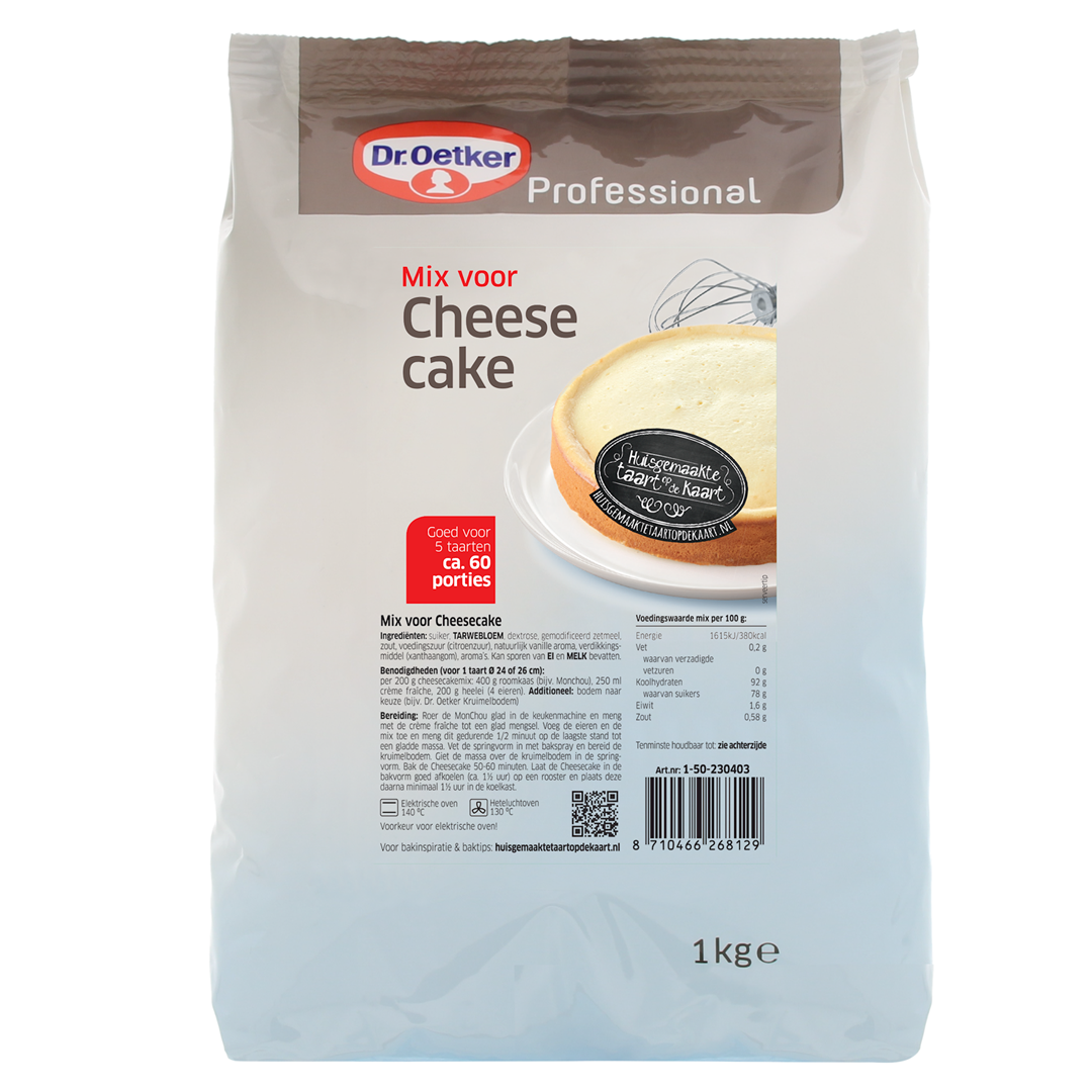 Productafbeelding Dr. Oetker Professional Mix voor Cheesecake 6x1kg