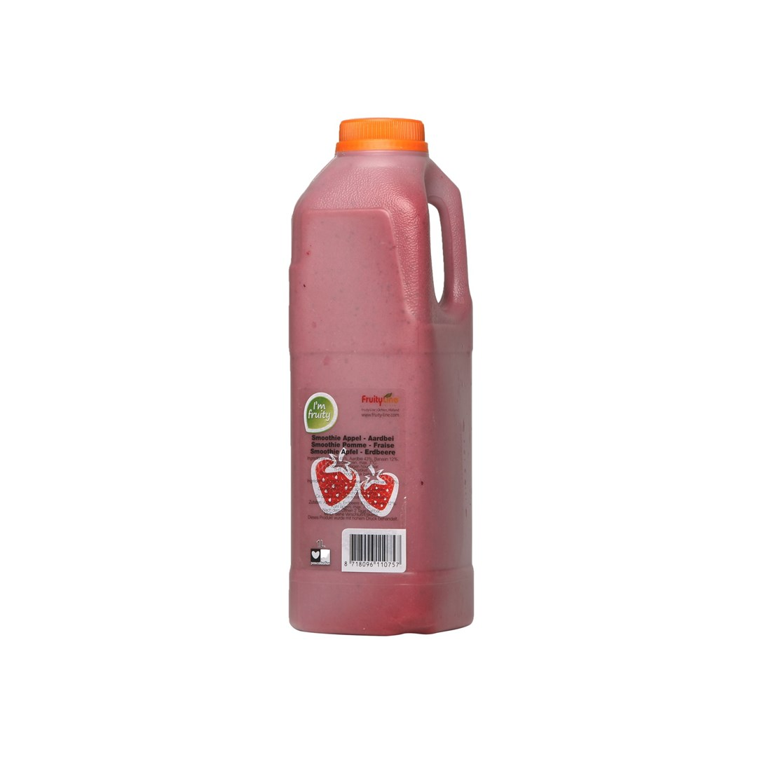 Productafbeelding Smoothie Appel-Aardbei HPP 1L Can