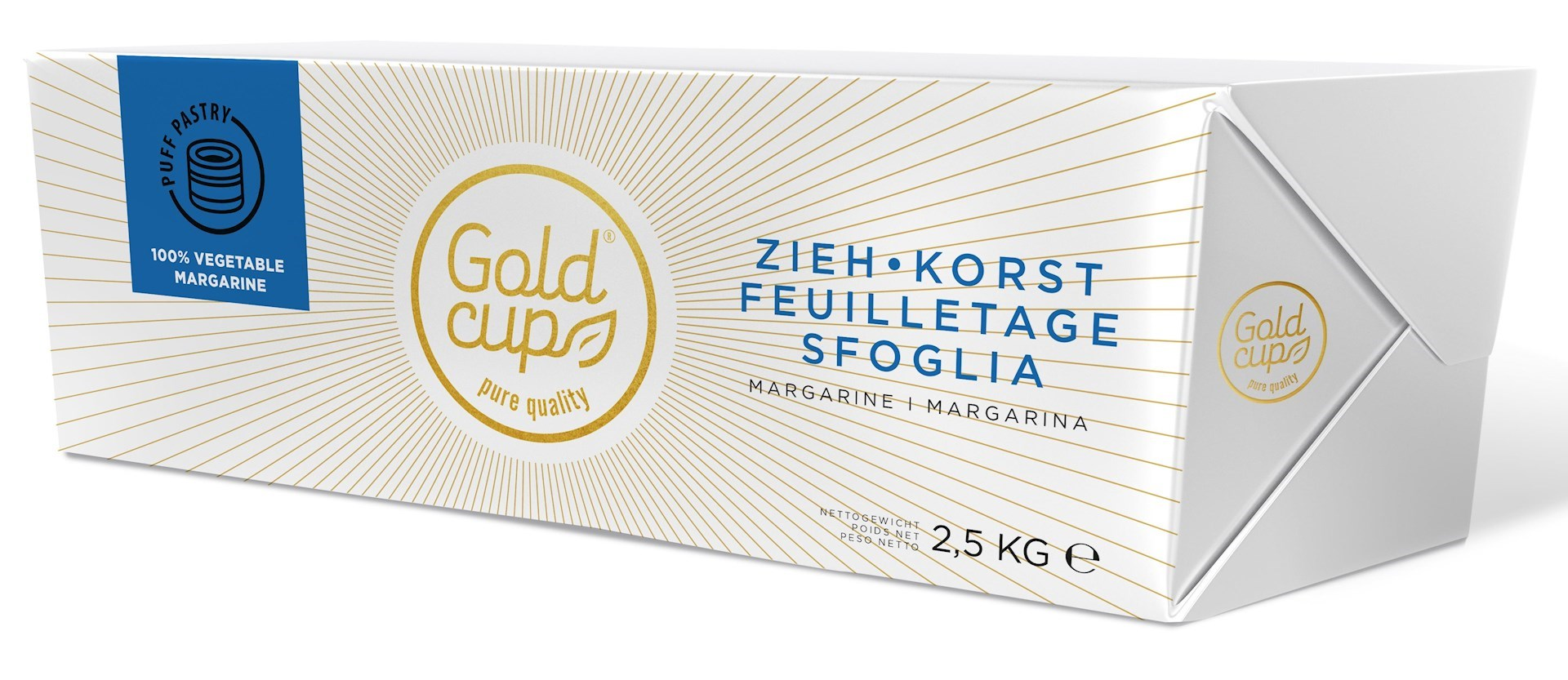 Productafbeelding Gold Cup Korstdeeg margarine Plak