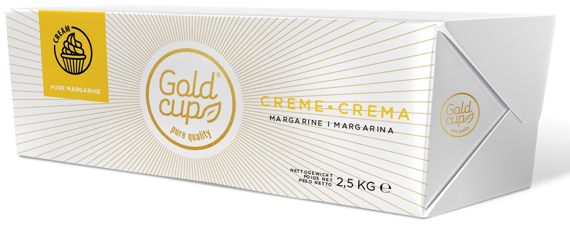 Productafbeelding Gold Cup Crème margarine Plak