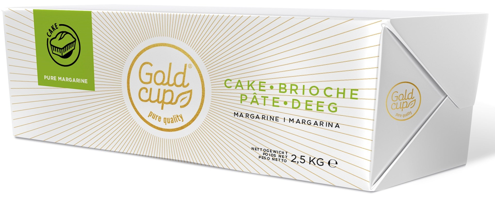 Productafbeelding Cold Cup Cakedeeg margarine Plak