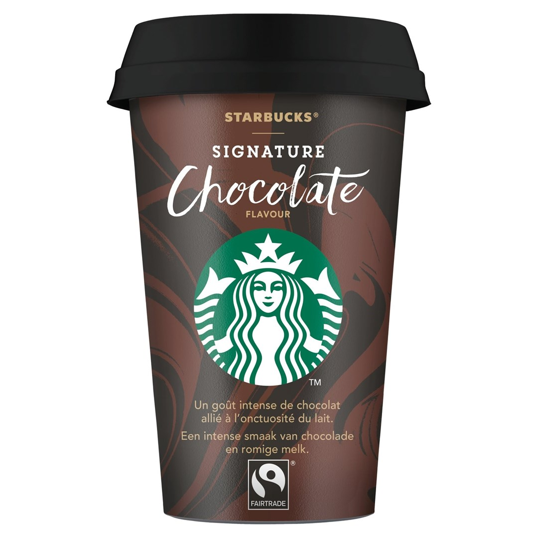 Productafbeelding Starbucks Chilled Classics Signature Chocolate 220ml beker