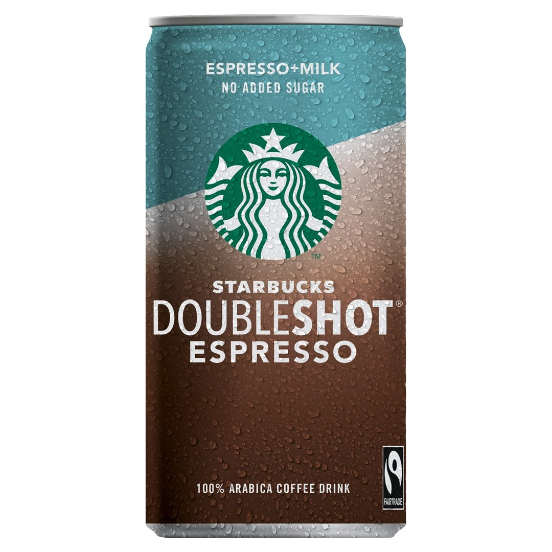 Productafbeelding Starbucks Doubleshot No Sugar Added 200ml can