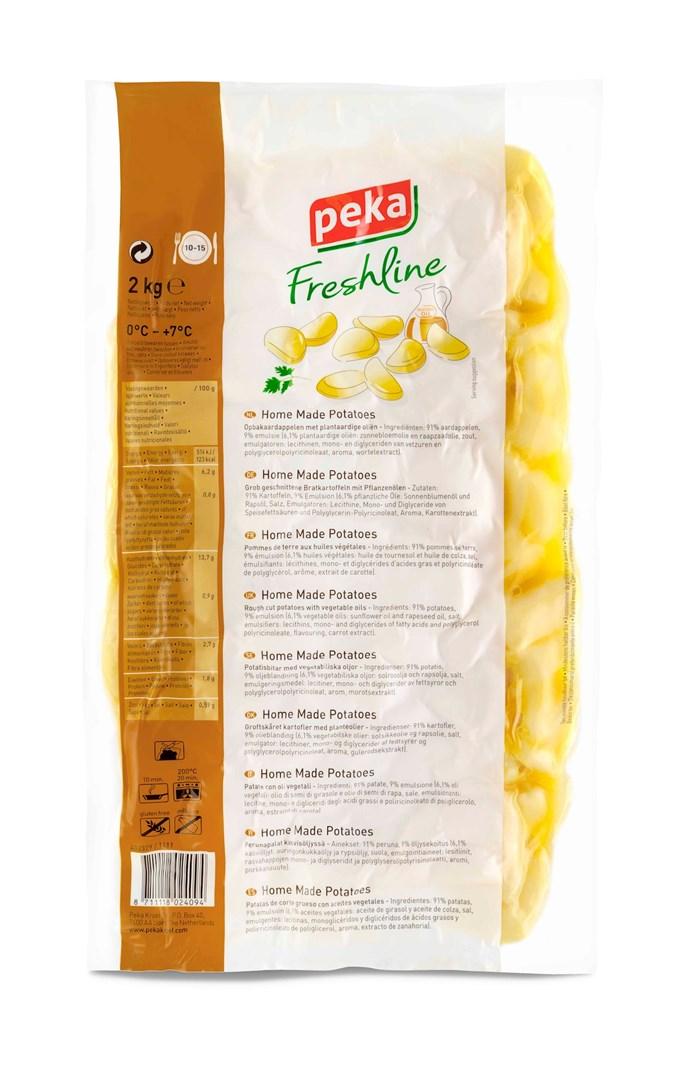 Productafbeelding Peka Freshline Home Made Potatoes 2kg