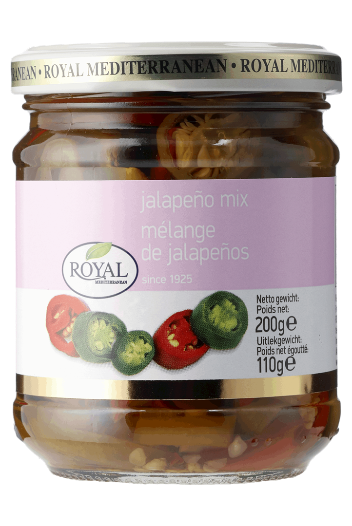 Productafbeelding Gesneden Jalapeno mix 200g