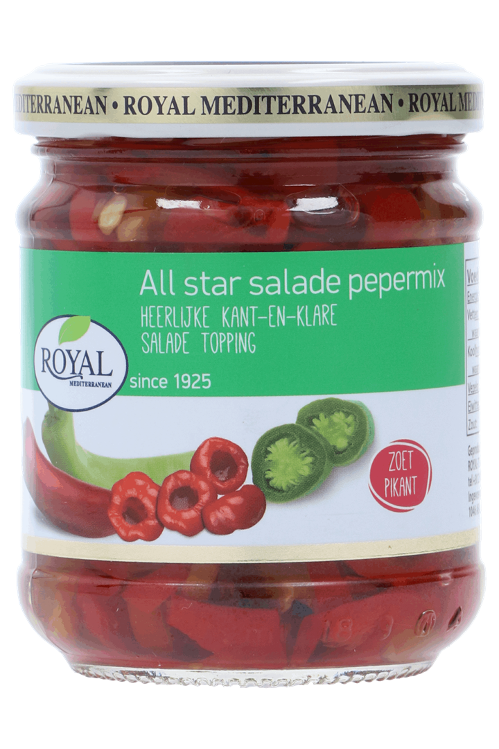 Productafbeelding All star salade pepermix 220 gram