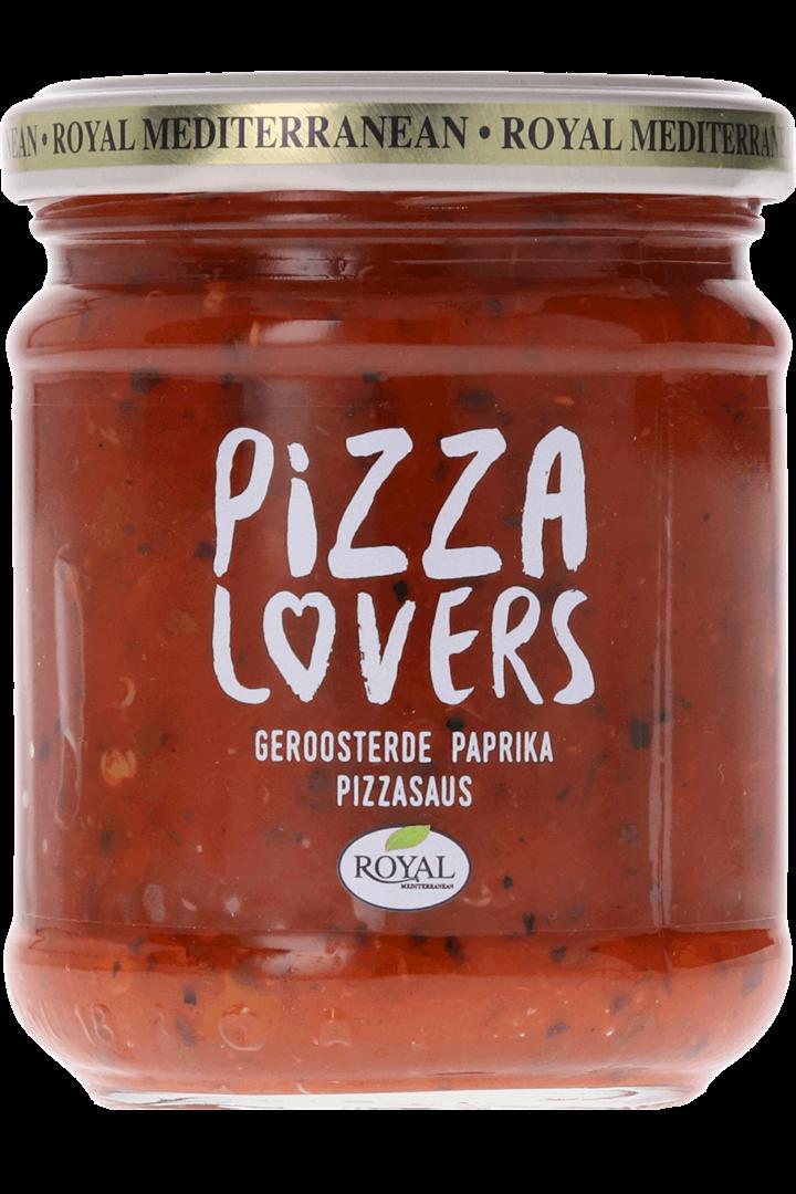 Productafbeelding Royal pizzasaus geroosterde paprika 190 gram