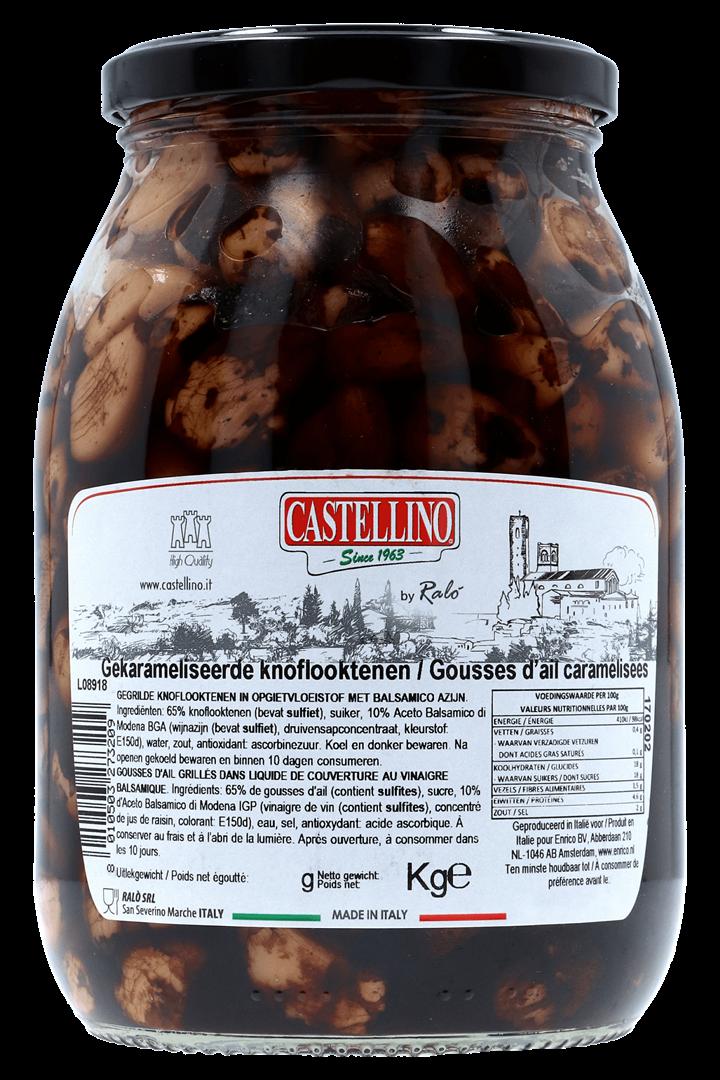 Productafbeelding Castellino Gekarameliseerde knoflooktenen 1000 gram