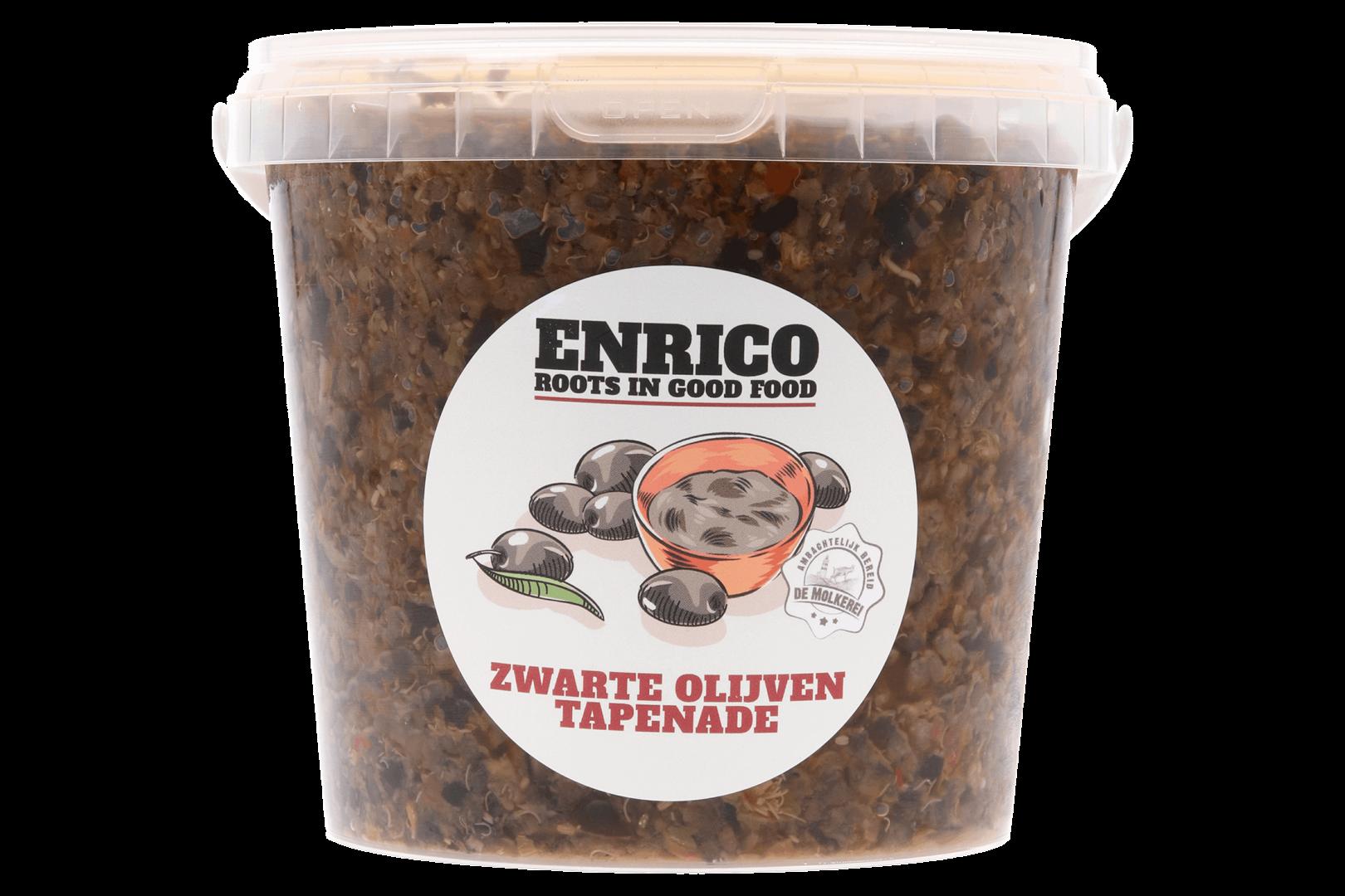 Productafbeelding Tapenade zwarte olijven koelvers 1000 gram