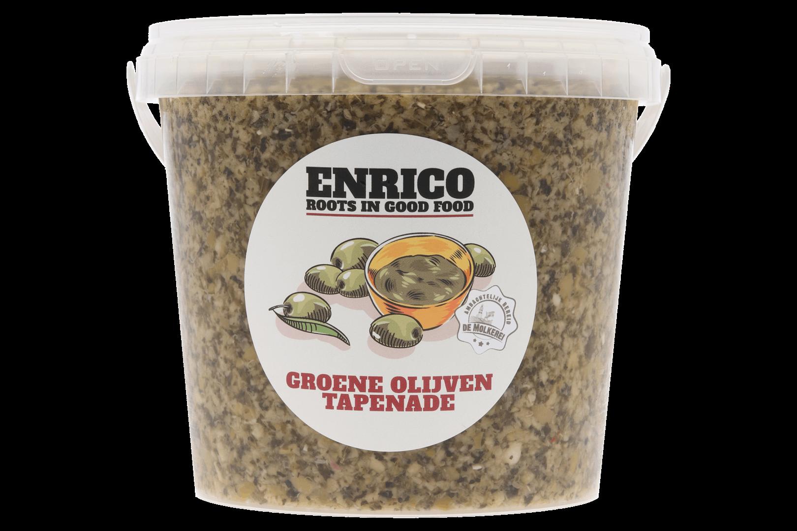 Productafbeelding Tapenade groene olijven koelvers 1000 gram