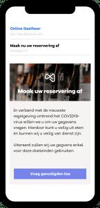 Horecava - online gastheer biedt oplossing voor registratieplicht in horeca