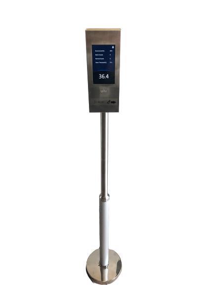 Contactloze koorts- en temperatuurmeter als service | Horecava