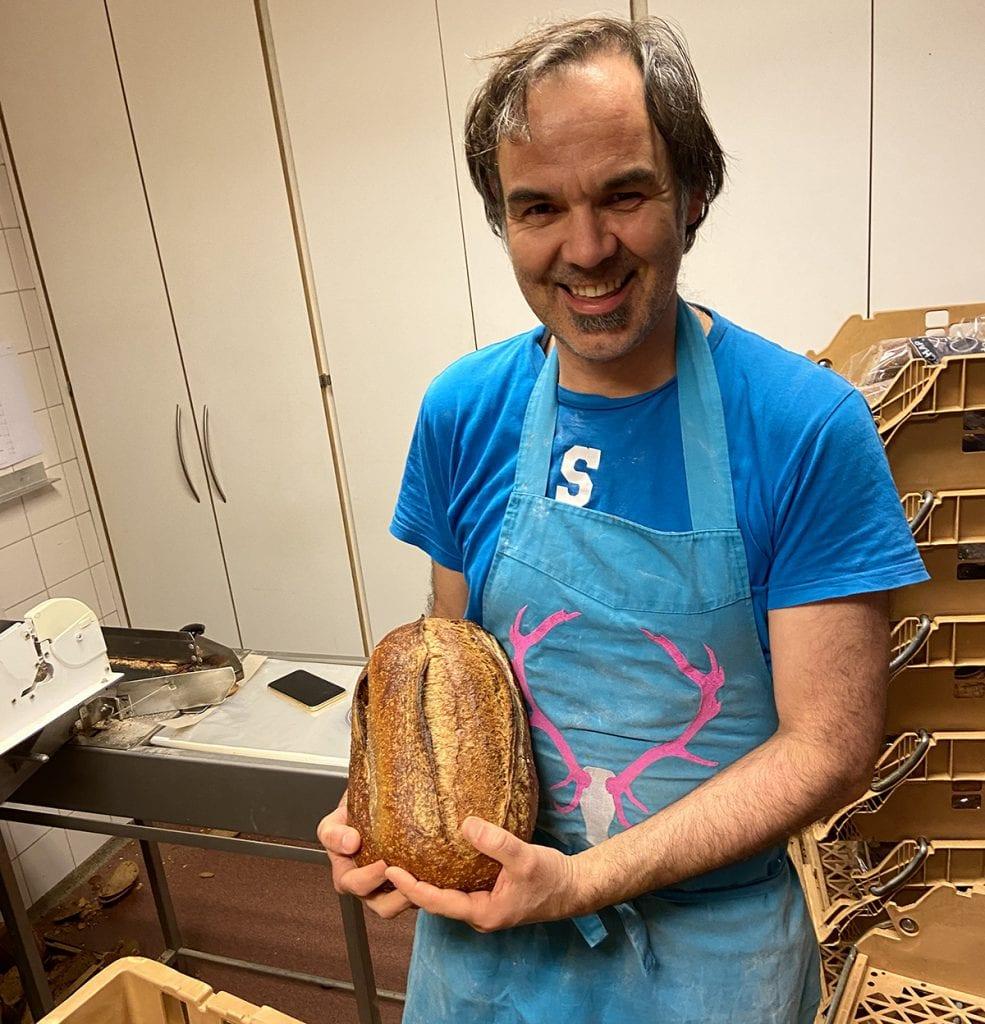 ebastiaan oprichter van start-up in the spotlight Bakkersgrondstof | Horecava