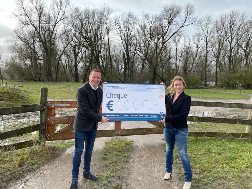AKE Ideal NordCap - Nederlandse Bijenhouders Vereniging We care for food Donatie