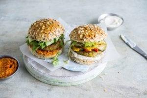 plantaardige burgers Cook & Create