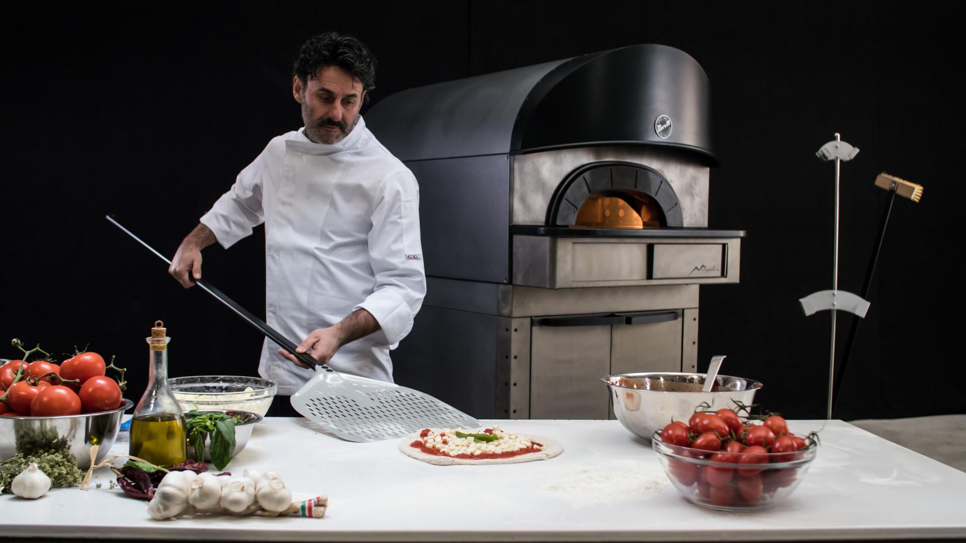 Neapolis Moretti Forni Pizza oven