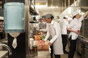Producent in de keuken