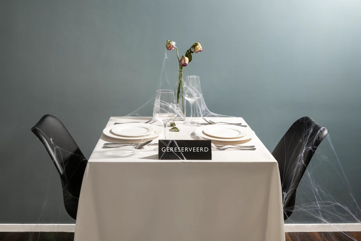 Photo of table reserved