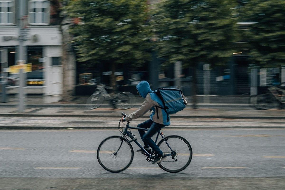 maaltijdbezorging fietser | Horecava