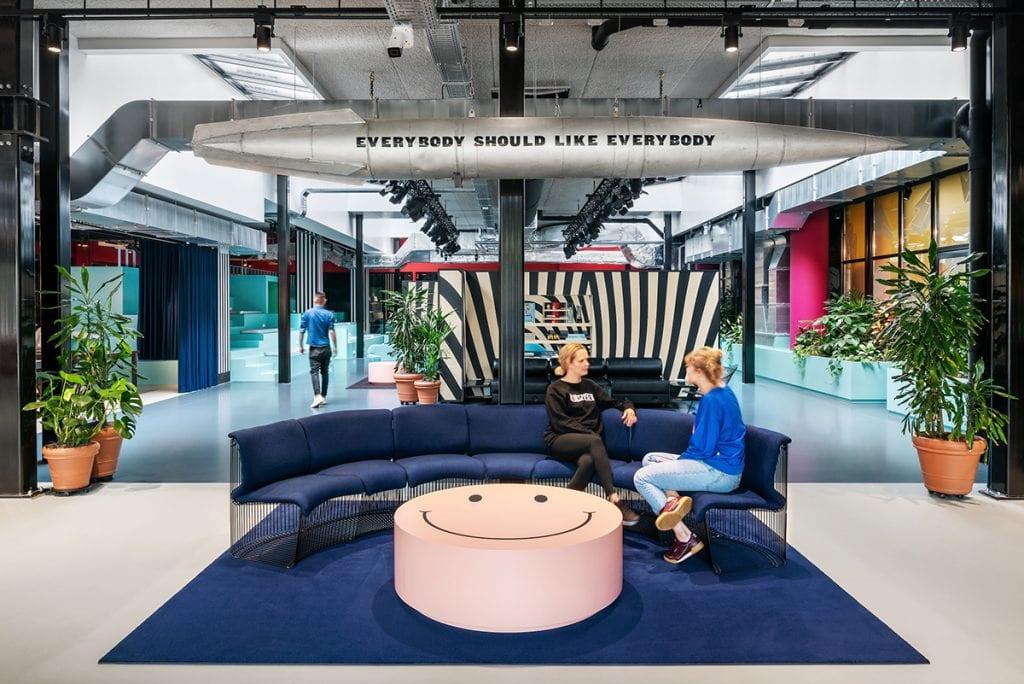 Interieur van TSH Amsterdam City