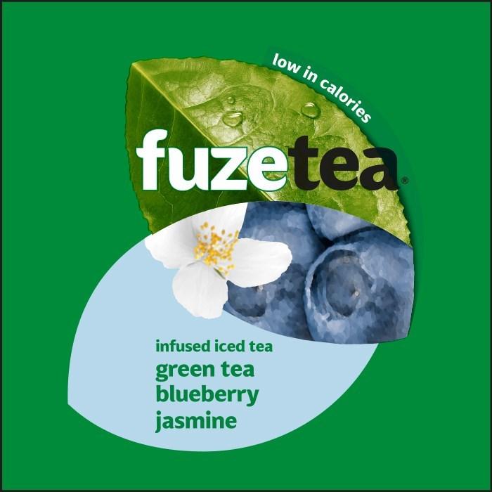 Merkafbeelding Fuze Tea Green Tea Blueberry Jasmine