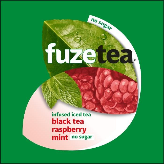 Merkafbeelding Fuze Tea Black Tea Raspberry Mint No Sugar