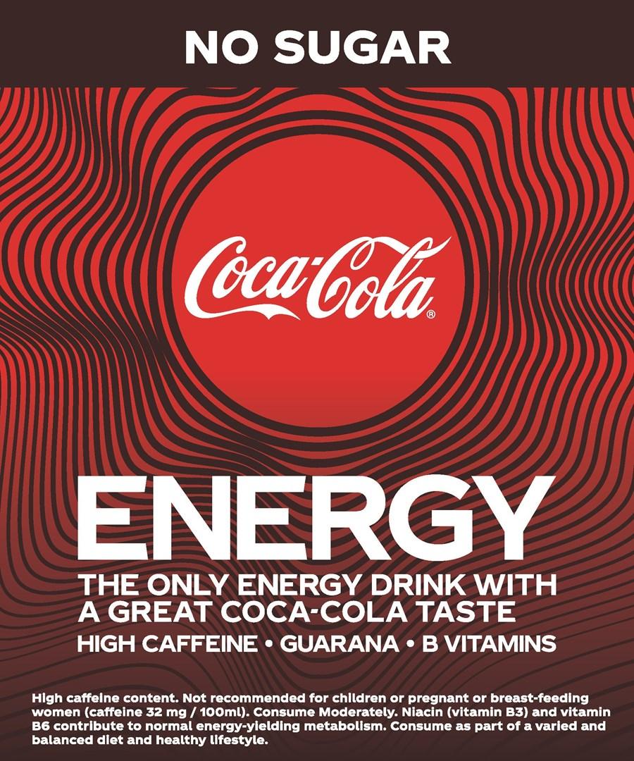 Merkafbeelding Coca-Cola Energy No Sugar
