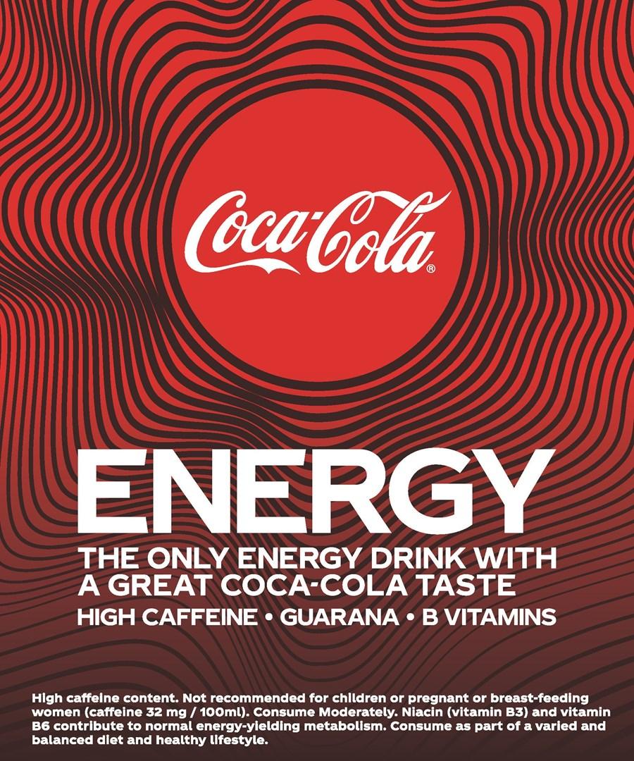Merkafbeelding Coca-Cola Energy Regular