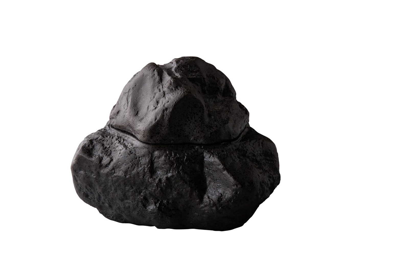 Productafbeelding Natuur steen met deksel 16,5 cm