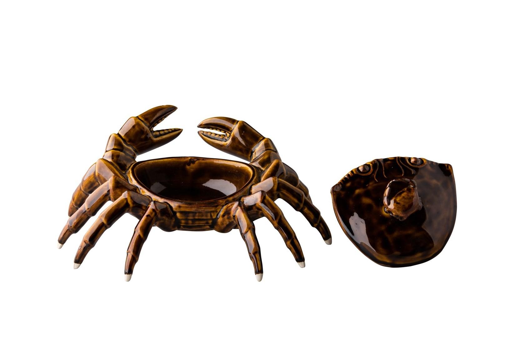 Productafbeelding Crab met deksel 26 x 17 cm